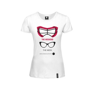 Goggles Woman T-shirt