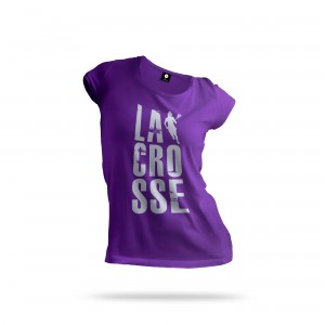 Lacrosse Woman T-shirt